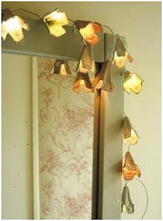 idea manualidad para hacer una adorno luminoso