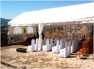 celebra tu boda o comunion en una carpa en casa