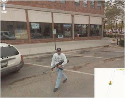 fotografias graciosas de google street view