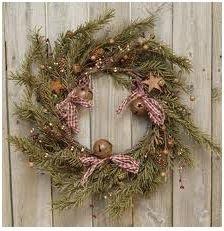 decoracion rustica para navidad