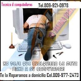REPARACIONES DE TODO TIPO DE COMPUTADORAS