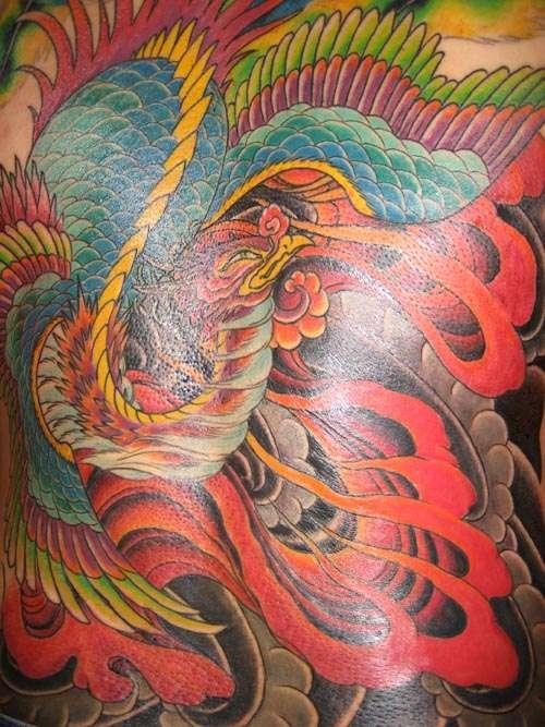 phenix tattoo. Phoenix Tattoo Designs