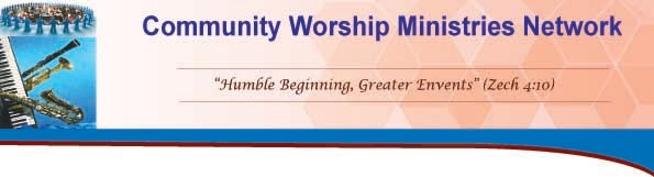 COMMUNITY WORSHIP MINISTRIES NETWORK