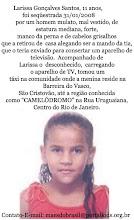 LARISSA GONÇALVES SANTOS (11 ANOS) RIO DE JANEIRO