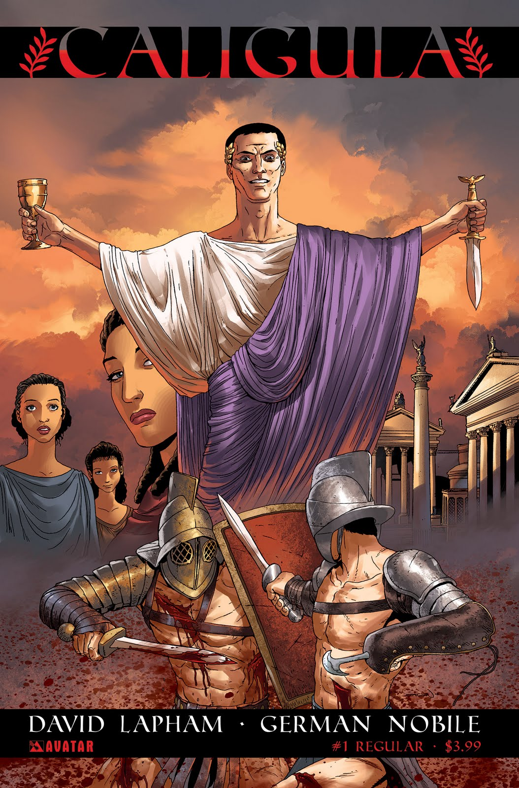 Caligula Movie Poster