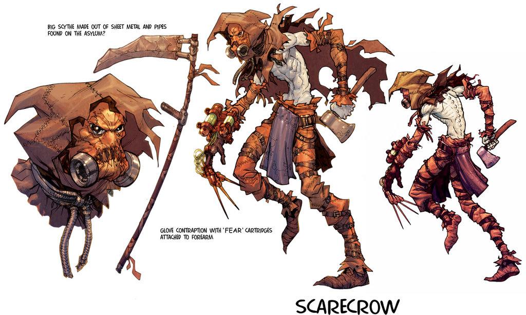 Scarecrow Symbol Batman Lektonfo