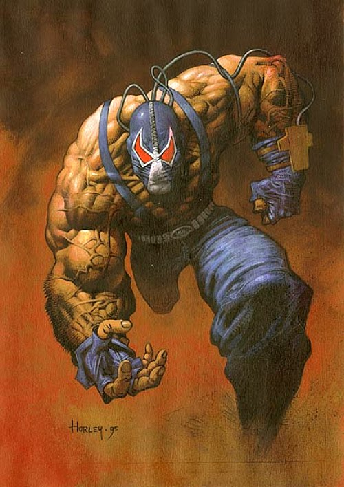 the dark knight rises bane concept art. given the somewhat