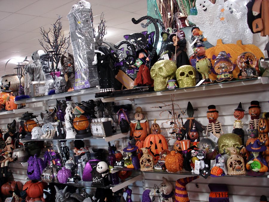 An Employee Was Stocking Shelves With Even More Halloween Merchandise I Asked How Can You Fit It All She Replied Have No Idea