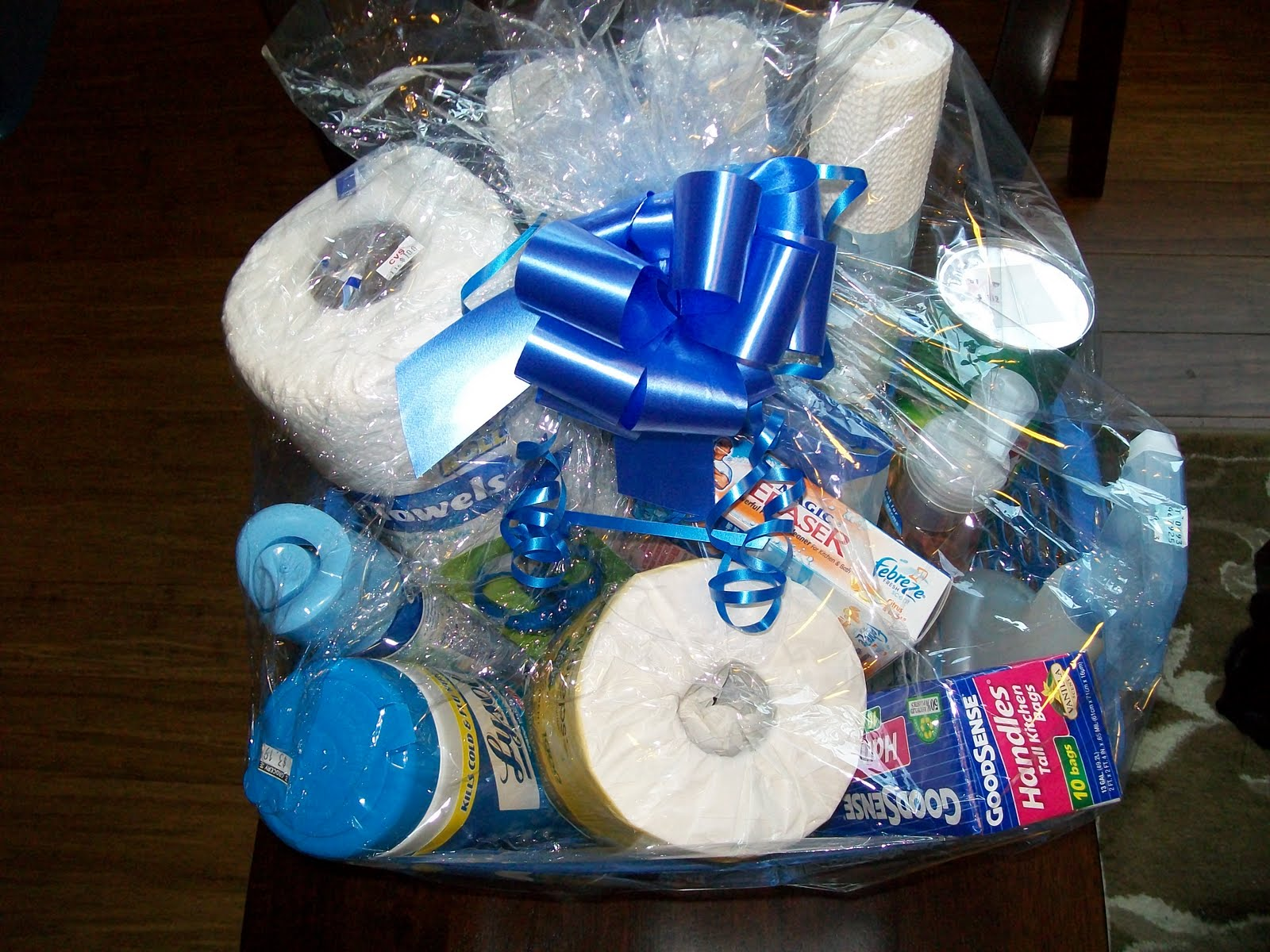 Frugal & Fabulous: Gift Basket from the Stockpile!