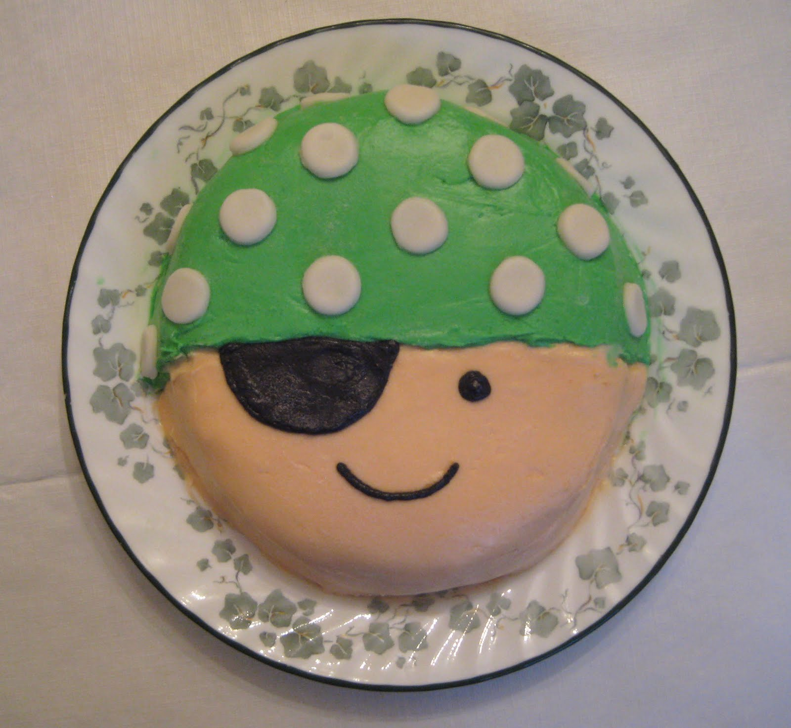 Pirate cake - photo#24