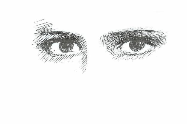 Dibujo Lapiz Ojo Ojos Dibujados a Lapiz