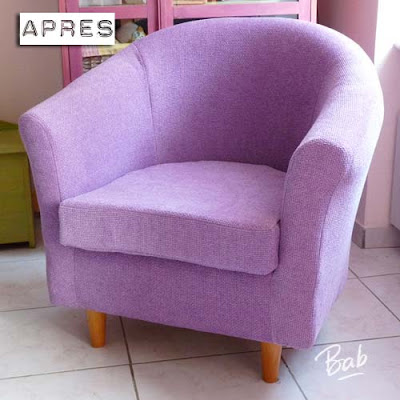 R novation d un fauteuil cabriolet for Coudre housse fauteuil