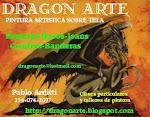 DRAGON-ARTE (pintura sobre tela)