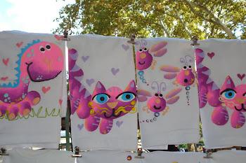 Remeras pintadas para niños