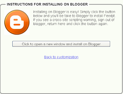 Memasang Widget Feedjit Di Blogger