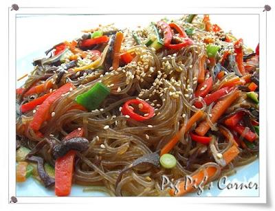 Korean-Style Cellophane Noodles