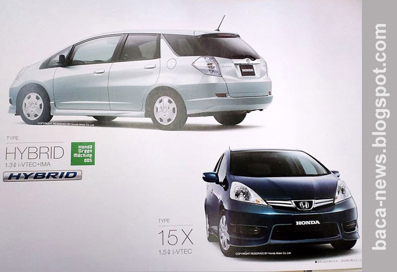 Honda Fit Shuttle 2011 | Honda Fit Shuttle 2011 Versi Wagon Honda Jazz