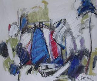 Manzara 30 x 40 cm tuval üzerine akrilik 2005