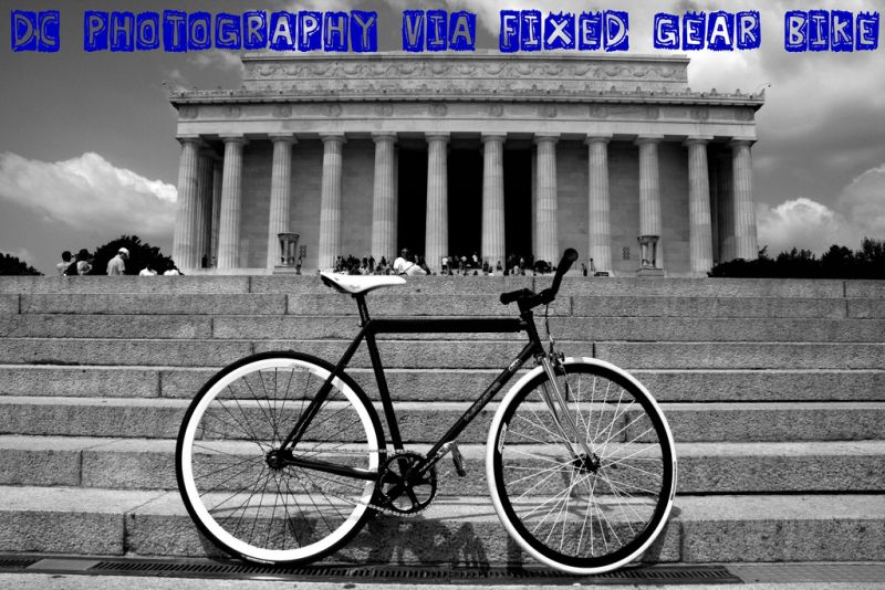 DC Photography via Fixed Gear Bike