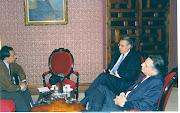 Entrev. RED al Canciller A. Wagner.: Politica exterior y comunidades peruanas en el exterior.