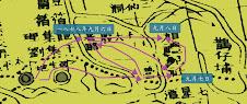 清軍攻擊路線圖