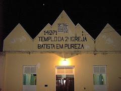 Segunda Igreja Batista em Agelim de São Fidélis-RJ.
