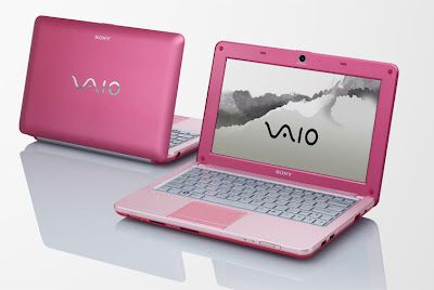 SONY Vaio VPC-W125AG Pink Color