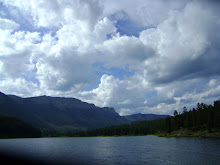 Thunderheads over Haviland Lake, North of Durango, Colorado.  Free write about a thunderstorm.