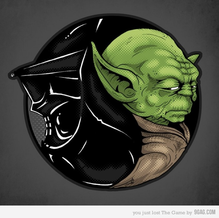 Yin Yang versão Star Wars