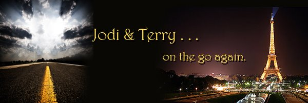 Jodi n Terry on the go . . .