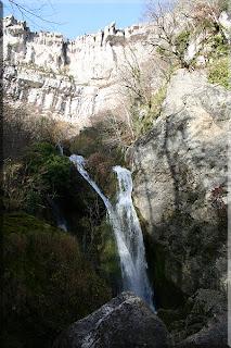 Cascada en el nacedero de Urederra
