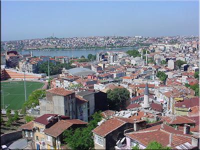 Barrio del Bazar desde Beyoglu