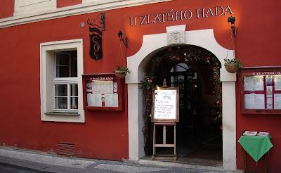 Se dice que es la taberna más antigua de Praga