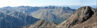 Panorámica de la Sierra de Tendeñera