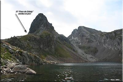 En el pico encontraremos el Paso de Orteig