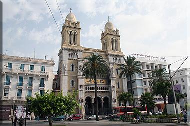 Catedral de San Vicente de Paúl en Túnez