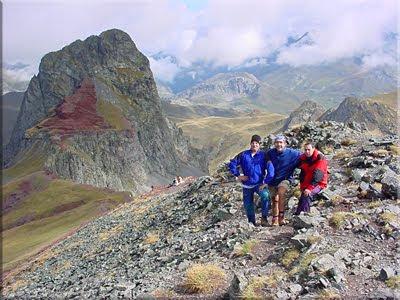 Vertice de Anayet mendiaren gailurra 2.259 m. -  2002ko irailaren 22an