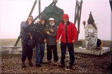 Gorbeia mendiaren gailurra 1.481 m. - 2000ko urriaren 7an
