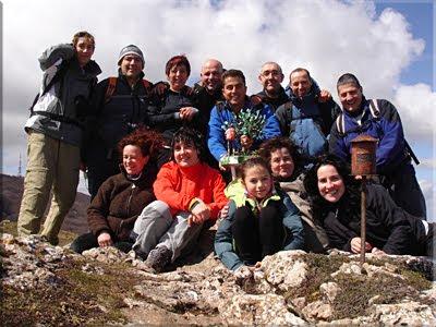 Laplana mendiaren gailurra 1.337 m.  -  2010eko martxoaren 27an