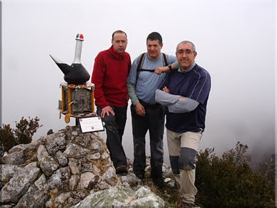 Zerraluntxa mendiaren gailurra 1.198 m. – 2010eko martxoaren 21ean