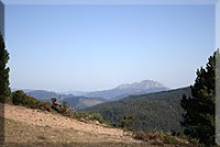 Udalatx durante el descenso