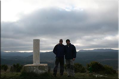 Cerro mendiaren gailurra 900 m. - 2009ko urtarrilaren 4an