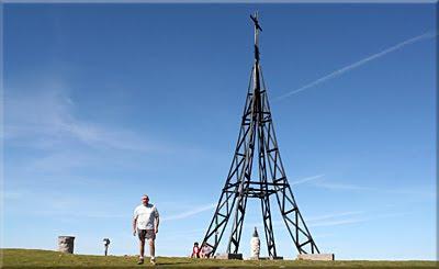 Gorbeia mendiaren gailurra 1.481 m. - 2010eko ekainaren 22an