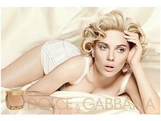 scarlett johansson dg 1 D&G Does Cosmetics