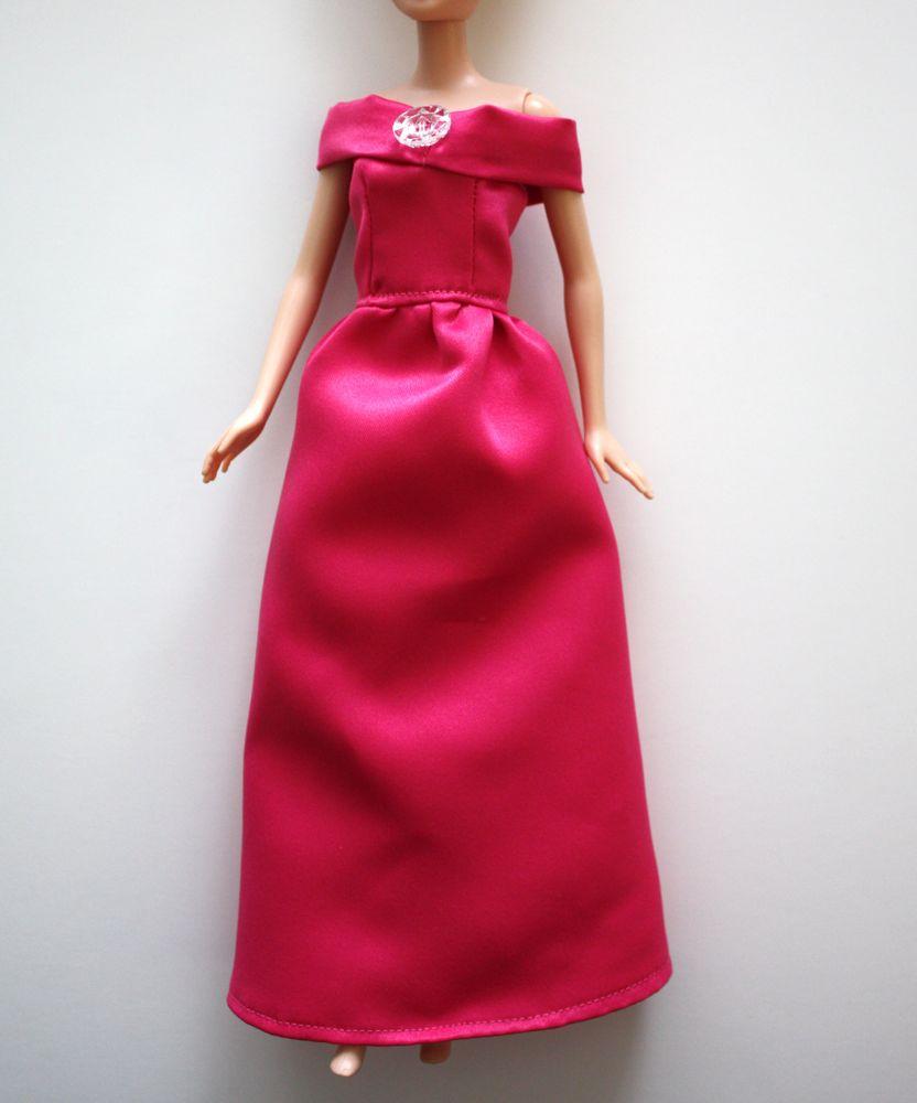 Платья для барби своими руками легко