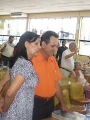 Pr. Luiz Spinelli e Jacira de Souza