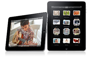 iPad can be used vertically or horizontally
