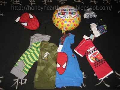 birthday gifts Spiderman backpack, hoodies