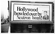 A neutron bomb, or Enhanced Radiation Weapon, . (neutronbomb)
