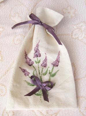woreczek zapachowy, lawendowy
